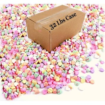 Necco Sweethearts 32lbs Bulk