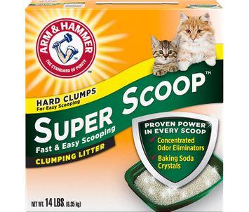 ARM & HAMMER™ Super Scoop™ Clumping Litter, Fresh Scent