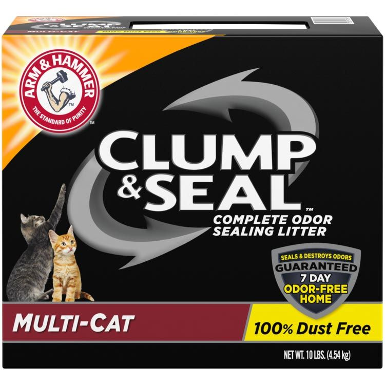 ARM & HAMMER™ Clump & Seal™, Complete Odor Sealing Clumping Litter