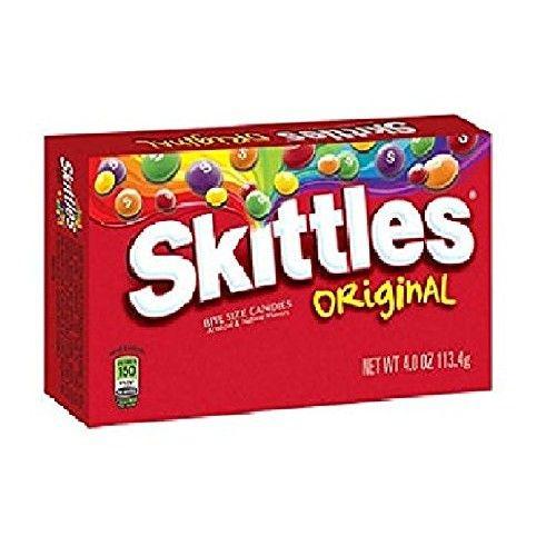 Skittles Original Theater Box - 4 oz. Box - 12 ct. by Skittles Original