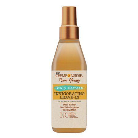 Crème of Nature Honey Scalp Refresh Invigorating Leave-In 8 oz.