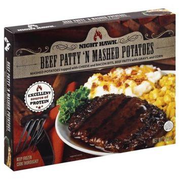 Night Hawk® Beef Patty 'N Mashed Potatoes Frozen Dinner 10 oz. Box