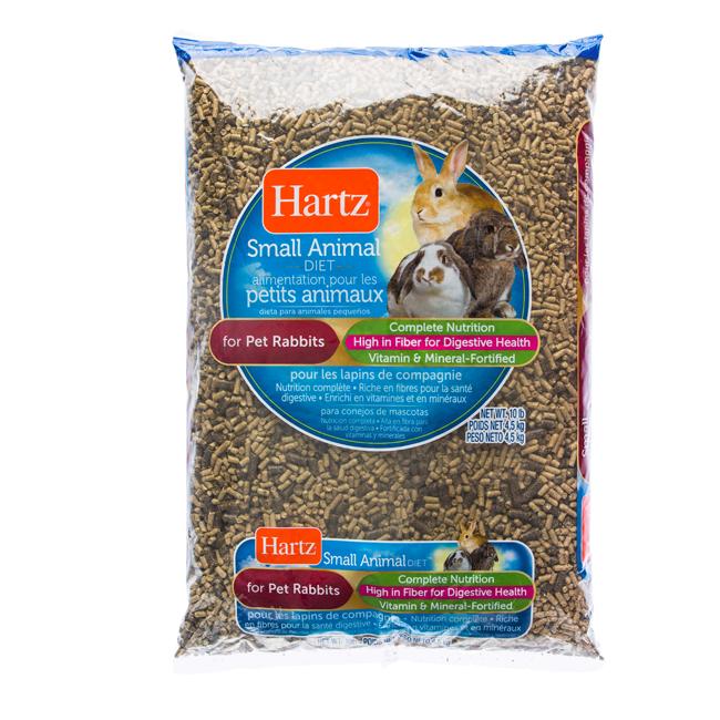 Hartz® Small Animal Diets For Pet Rabbits - 10lb
