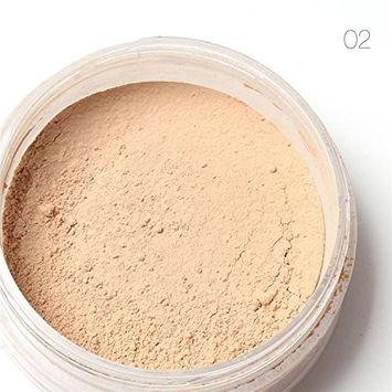 Women Face Cosmetic Beauty Pro Powder Loose Powder Waterproof Skin Finish Powder 3 Colors