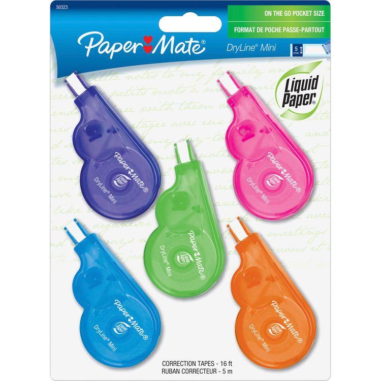 Paper Mate Lp Dryline Tape Mini  4 + 1  5Mmx5M