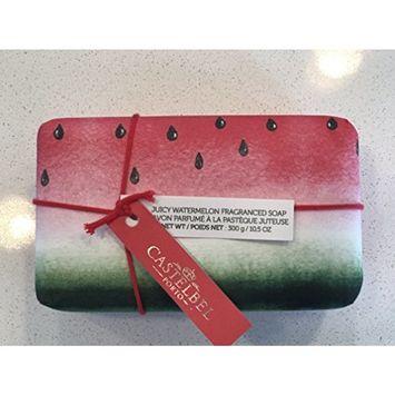 Castelbel Juicy Watermelon Fragranced Imported Bath Bar Soap 10.5oz