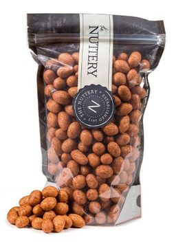 The Nuttery Ny The Nuttery Freshly Roasted Kabukim Nuts 16 ounce Pouch Bags (1lb (BBQ Kabukim)