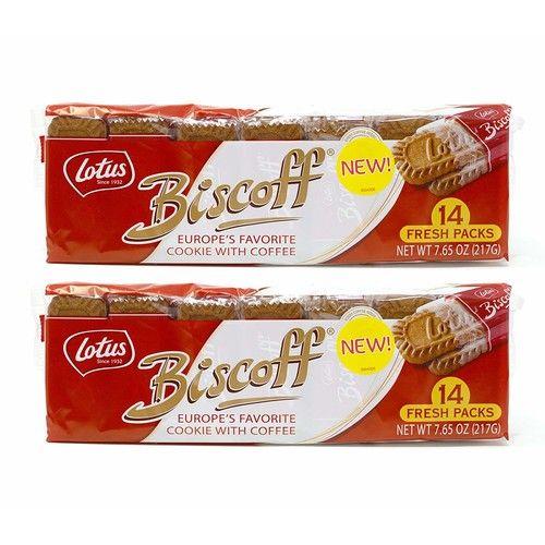 14 Fresh Packs of Biscoff Cookie Two-packs, 7.65oz (Pack of 2)