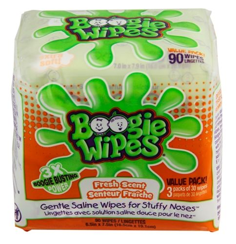 Boogie Wipes 3x Pack (90ct.) Fresh Scent Wipes