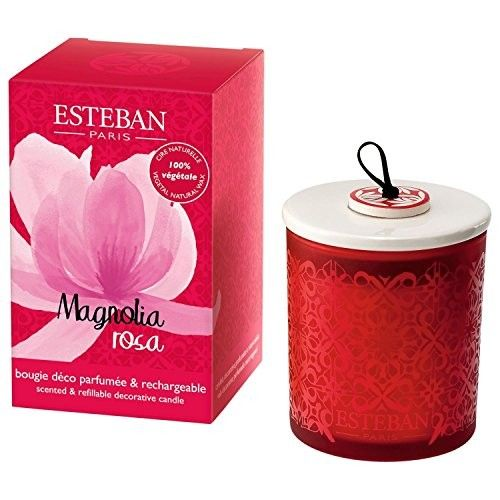 Esteban Magnolia Rosa Scented Candle - Pack of 2