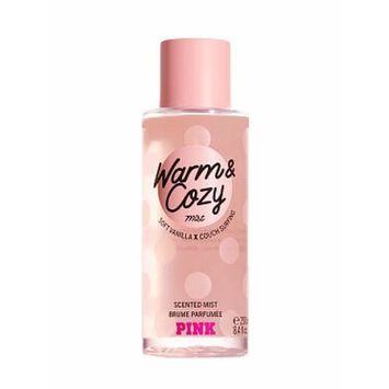 Victoria Secret Pink Warm & Cozy Body Mist Soft Vanilla X Couch Surfing 8.4 fl oz