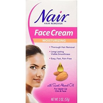 Nair Hair Remover Face Cream 2oz (6 Pack) by Nair