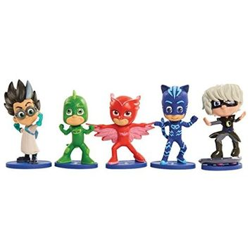 Hot Sale! Sunfei Just Play PJ Masks Collectible Figure Set 5 Pack