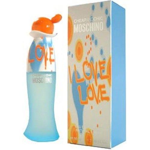 I Love Love for Women Gift Set - 1.7 oz EDT Spray + 3.4 oz Body Lotion + 3.4 oz Shower Gel