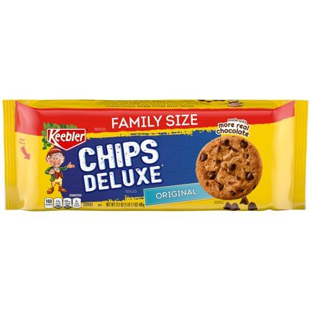 Keebler Chips Deluxe Original Chocolate Cookies