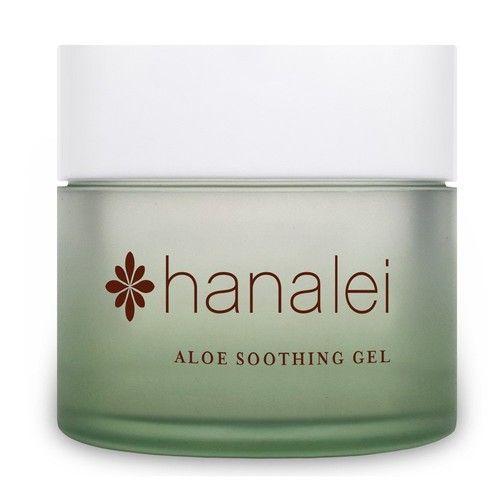 Aloe Soothing Gel by Hanalei Company, Cooling Moisturizer, Helps Relieve Sunburn, 100 gram (Cruelty Free, Paraben Free)