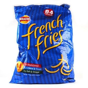 Walkers French Fries Assorted 14 Pack 144g