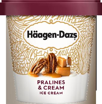 Haagen-Dazs Pralines and Cream Ice Cream