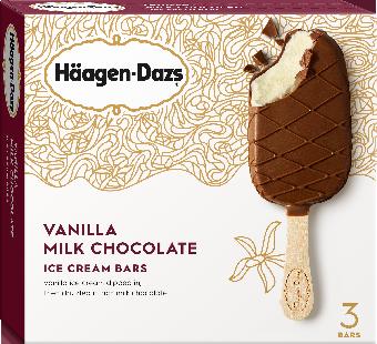Haagen-Dazs Vanilla Milk Chocolate Bar