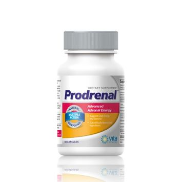 Vitasciences PRODRENAL Adrenal Support - Cortisol Manager - Advanced stress relief formula with B6, Rhodiola, Licorice, Ginseng, Astragalus & more.