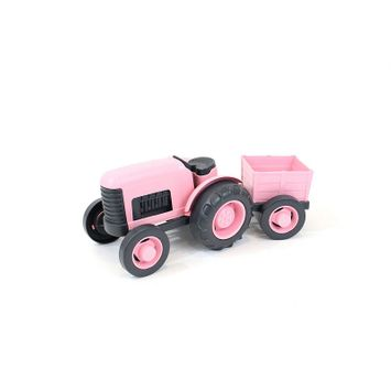 Green Toys Tractor - Pink