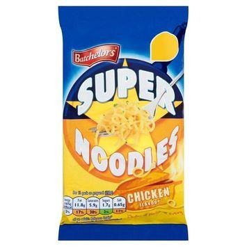 Batchelors Super Noodles Chicken - 100g - Pack of 6 (100g x 6)