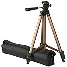 Basics 50 Inch Lightweight Tripod with Bag