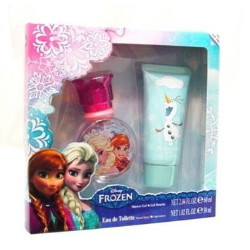 Disney Frozen Gift Set with Eau De Toilette Spray 1.02 oz and Gel for Kids