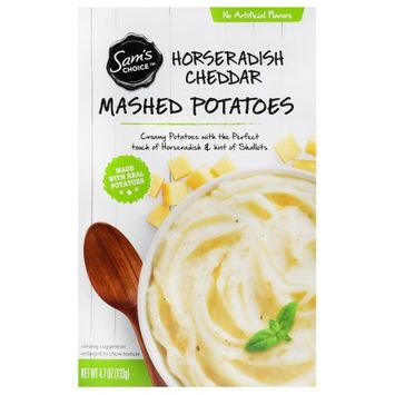 Wal-mart Stores, Inc. Sam's Choice Horseradish Cheddar Mashed Potatoes, 4.7 oz