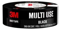 3M™ Black Duct Tape 3960-BK, 1.88 in x 60 yd (48 mm x 54,8 m)