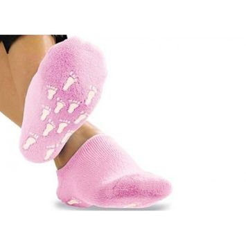 Medex Pink Scented Gel Moisturizing Footsies Helps To Moisturize And Soften Your Feet