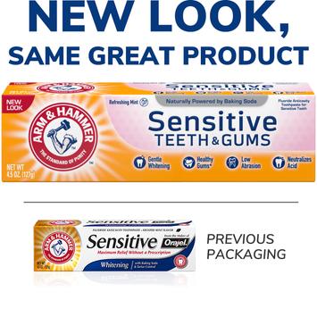 ARM & HAMMER™ Sensitive Teeth & Gums™ Toothpaste
