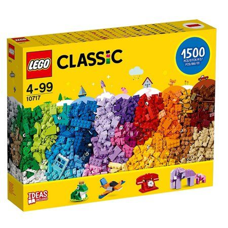 LEGO Classic Brick Set, 1500 Piece