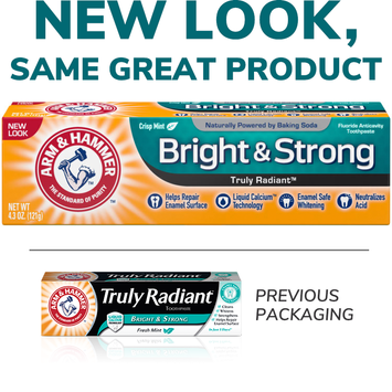 ARM & HAMMER™ Bright & Strong Truly Radiant™ Toothpaste 4.3 oz