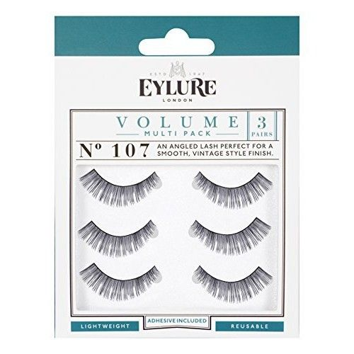 Eylure Volume Multi Pack Lashes Number 107 by Eylure