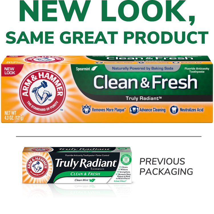 ARM & HAMMER™ Clean & Fresh Truly Radiant™ Toothpaste