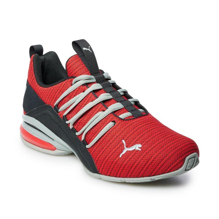 PUMA Axelion Ridge Men's Sneakers, Size: 11, Red