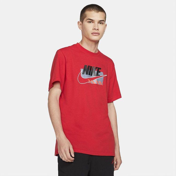 Men's Nike Brand Mark Tee, Size: Large, Dark Pink