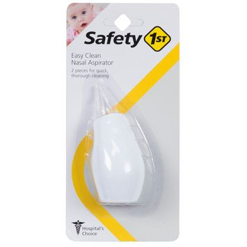 Safety 1ˢᵗ Easy Clean Nasal Aspirator, White