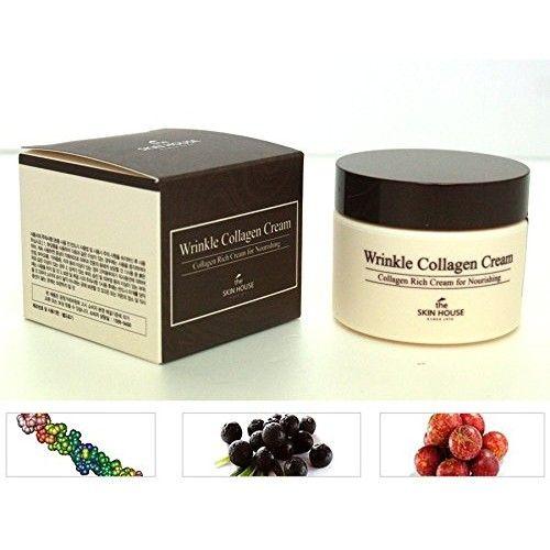 The Skin House Wrinkle Collagen Cream, 1.7 Ounce
