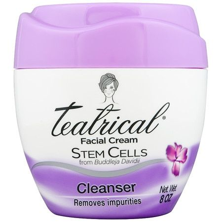 Teatrical Facial Cream - Stem Cells - Cleanser 8 oz (Ltg Purple)