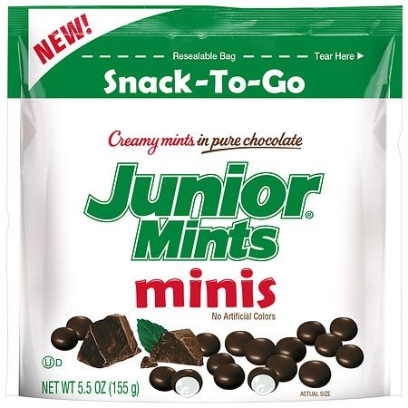 CREAMY MINTS IN PURE CHOCOLATE, MINIS