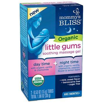 Mommy's Bliss Organic Gum Massage Gel Day/Night Combo - 2ct/0.53oz Each