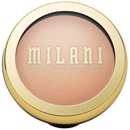 Milani Conceal + Perfect 2-in-1 Cream to Powder Smooth Finish Makeup - Buff - 0.28oz