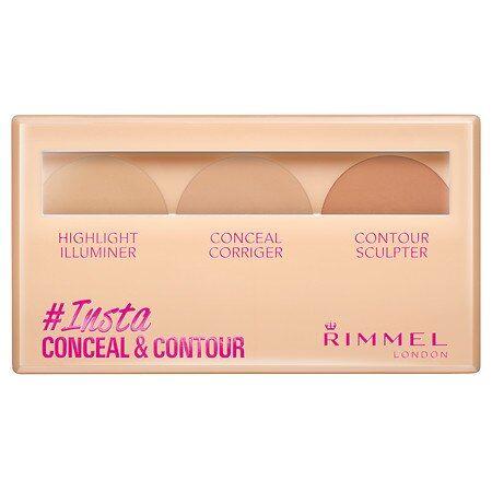 Rimmel Insta Concealer and Contour Palette Light - 0.24oz