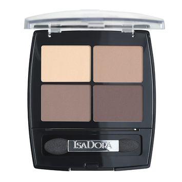 IsaDora Eye Shadow Quartet - 0.18 oz.