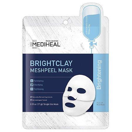 MEDIHEAL Bright Clay Meshpeel Mask - 0.59 oz
