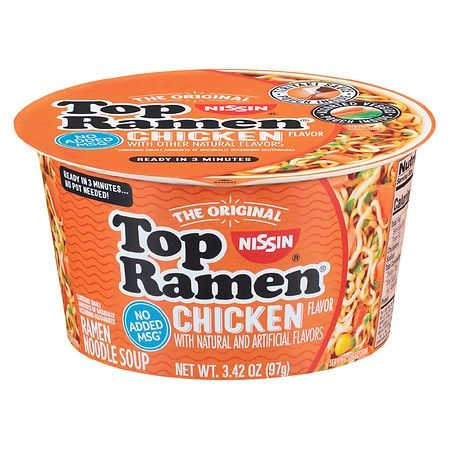 THE ORIGINAL CHICKEN RAMEN NOODLE SOUP, CHICKEN
