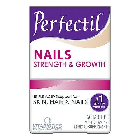 Vitabiotics Perfectil Nails Multivitamin/Mineral Supplement - 60.0 ea