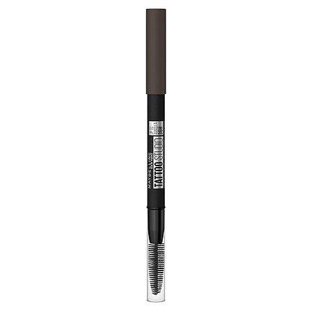 Maybelline Tattoo Studio 36H Pigment Brow Pencil - 262 Black Brown - 0.026oz